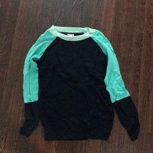 J. Crew color block sweater